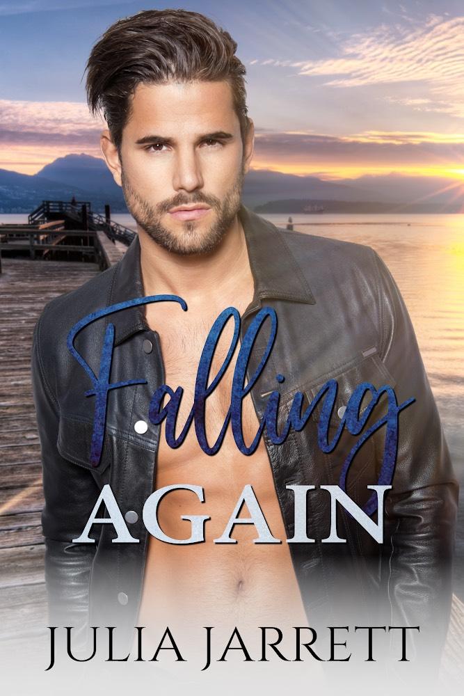Falling Again (Westmount Island book 2) by Julia Jarrett Book Cover